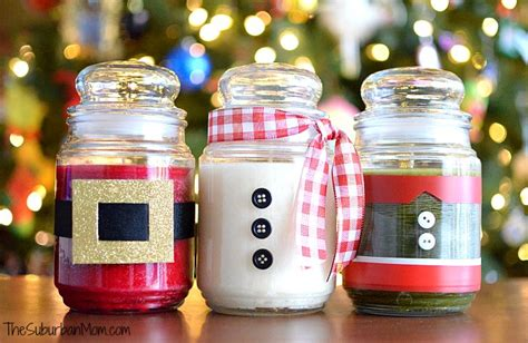 diy christmas candles   easy gift ideas