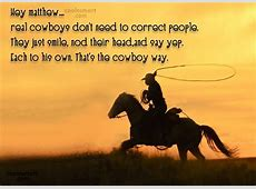 Cowboy Funeral Quotes QuotesGram