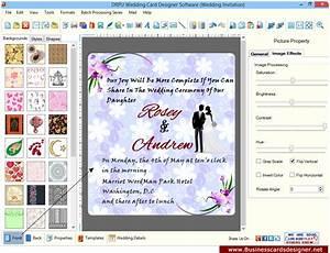 wedding card designer software to design invitation cards With wedding invitations program free download