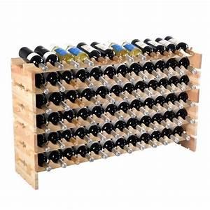 Porte Bouteille De Vin : tag re vin casier vin porte bouteille 72 bouteilles ~ Dailycaller-alerts.com Idées de Décoration
