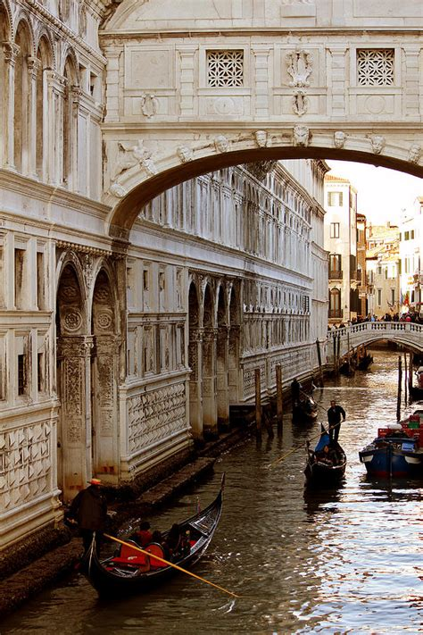 Bridge Of Sighs Venice Photograph By Cedric Darrigrand