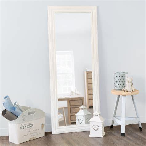 chambre a coucher des enfants miroir napoli blanc 145x59 maisons du monde