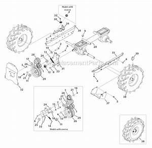 Troy-bilt 21c-65m1011 Parts List And Diagram