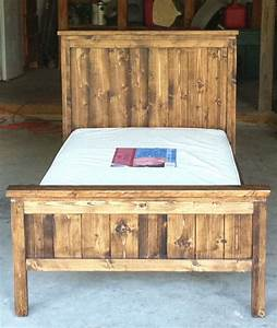 Ana White Farmhouse Toddler Bed DIY Projects