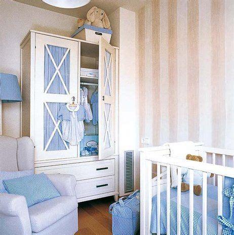 dormitorio  el bebe en tonos neutros  toques de azul