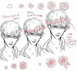 skull with flower crown drawing tumblr - Google Search ...