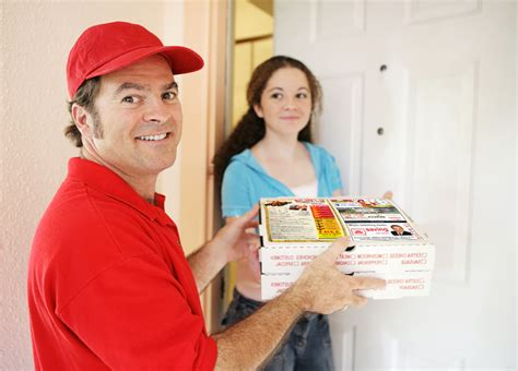 Pizza Delivery—as American As Apple Pie