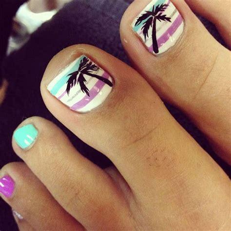 summer toe nails art designs ideas  fabulous nail