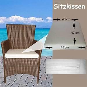 Sitzkissen Für Gartenstühle : sitzpolster sitzkissen konisch f r rattanstuhl ~ Buech-reservation.com Haus und Dekorationen
