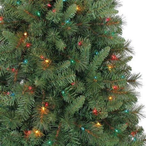 pencil trees christmas by ashland 7 foot pre lit pencil tree only 39 99 shipped regularly 100 more hip2save