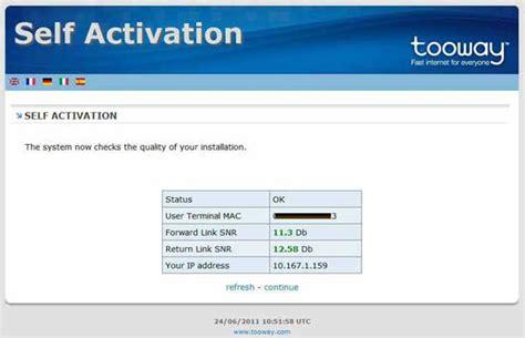 Tooway Activation Error!!!