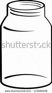Glass jar clipart - Clipground