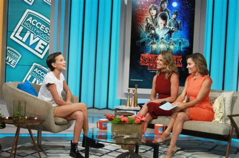 aaron paul interviews millie bobby brown stranger things will millie bobby brown be in second