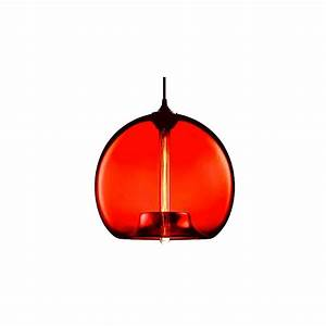 Pear glass jar pendant lamp red light and lamps for Glass jar floor lamp