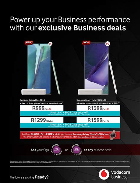 Boost Business Performance With Exclusive Vodacom Business