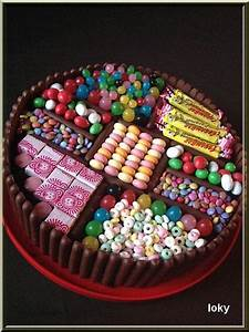 Deco Bonbon Anniversaire : gateau chocolat bonbon ~ Melissatoandfro.com Idées de Décoration