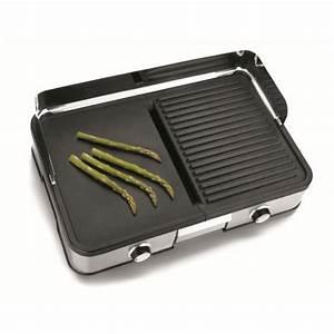 Plancha Ou Barbecue : plancha electrique ou grill top plancha ~ Melissatoandfro.com Idées de Décoration