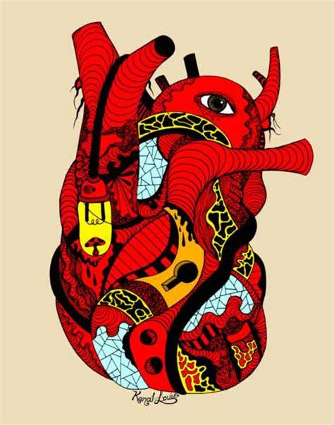 beautiful human heart drawing pieces   inspire