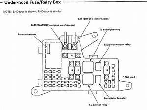 2006 Honda Accord Fuse Box Diagram