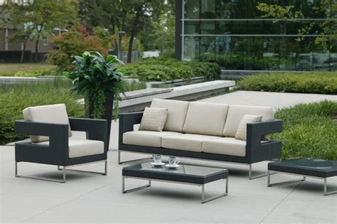 patio furniture seating contemporary garden