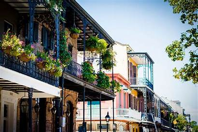 Orleans French Quarter Facts Geography Balcony Building