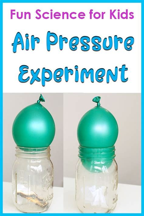 pressure air science balloon experiment experiments activity easy jar activities subscribe