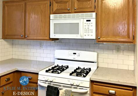 kitchen backsplash ideas for oak cabinets 5 ideas update oak cabinets without a drop of paint 9054