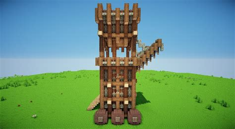 siege minecraft siege tower minecraft project