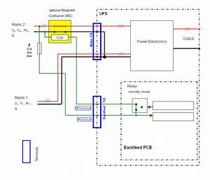 Ups Maintenance Bypass Switch Wiring Diagram Collection