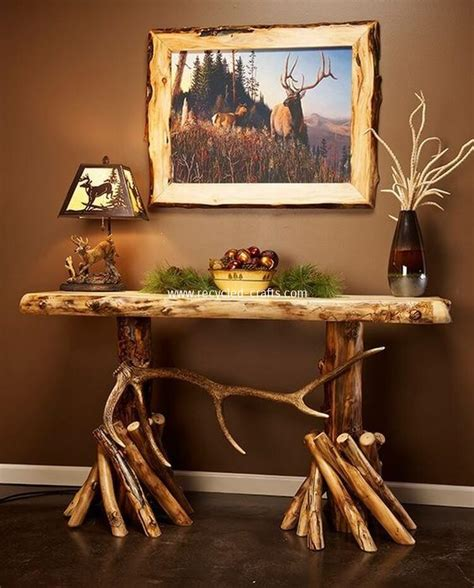rustic entryway table innovative rustic furniture decorating ideas you ll