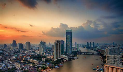 perspective thailand thai bangkok city river