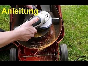 Mulchmesser Für Rasenmäher : rasenm her messer schnell sch rfen anleitung youtube ~ Orissabook.com Haus und Dekorationen