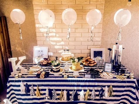Black And Gold Baby Shower by Black Baby Shower Decor Baby Showers Ideas