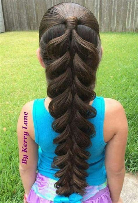 Super Cute Braided Hairstyles 2016 2017 for Little Girls