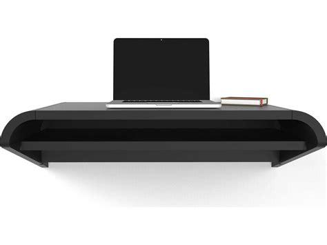 wall mounted pull out desk orange22 minimal satin black 36 39 39 l x 16 39 39 d rectangular