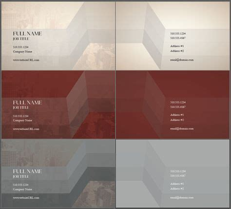 design tool templates traditional business cards