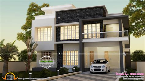 house designs simple contemporary house and plan kerala home design