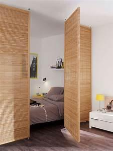 Séparateur De Pièce Ikea : cloisons amovibles chambre maison travaux ~ Dailycaller-alerts.com Idées de Décoration