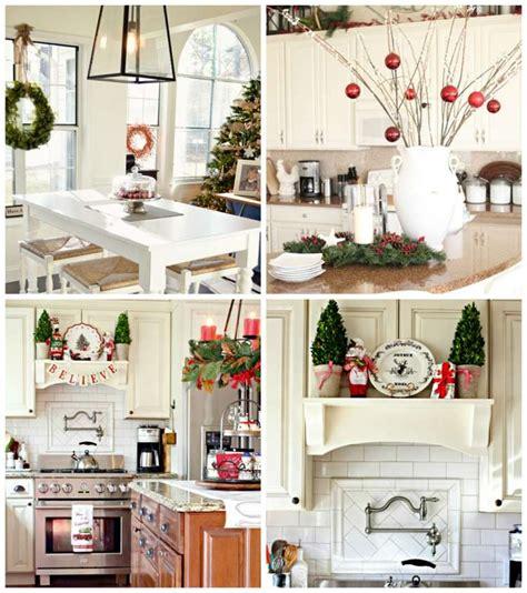d馗oration d une cuisine décoration noël de la cuisine un décor élégant pour les fêtes