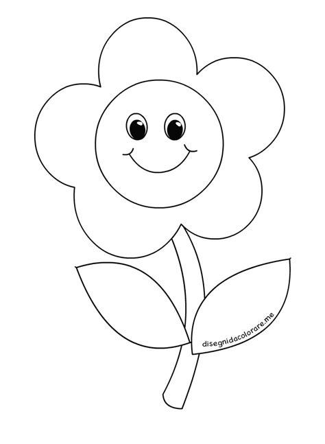 disegni di bambini stilizzati 81 sagome di fiori da colorare e ritagliare per bambini