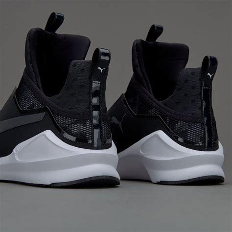 womens shoes puma fierce swan puma black puma white
