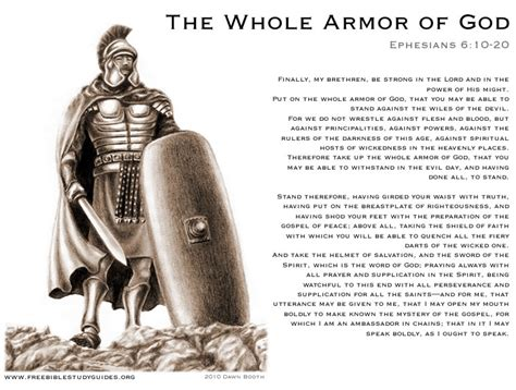 The Breastplate Of Righteousness Armor God Gt Free