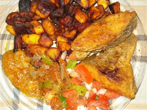 recette de cuisine l alloco poisson how to make fried plantain fried fish