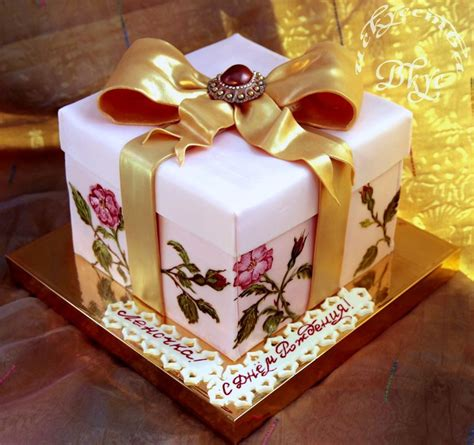 Kuchen Idee by Cake Gift Box Cakecentral