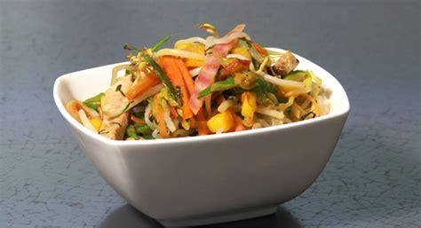 cuisiner le konjac recette wok de légumes et nouilles de shirataki de konjac