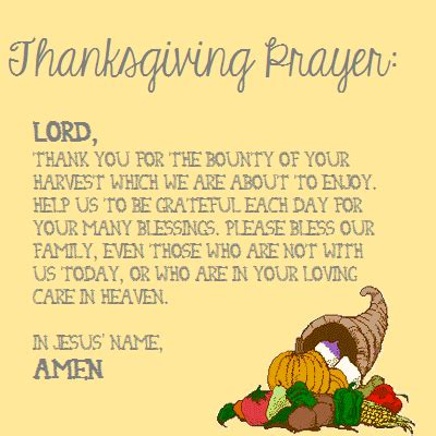 my beautiful midwest thanksgiving prayer
