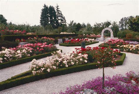 Rose Garden  Formal Garden  City Of Vancouver Archives