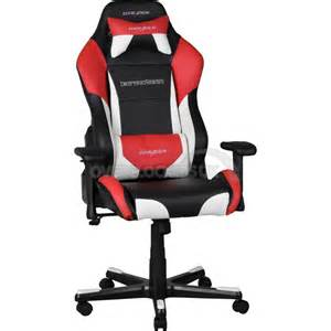 Chaise Gamer by Dxracer Drifting Series Gaming Chair Black White Red Oh