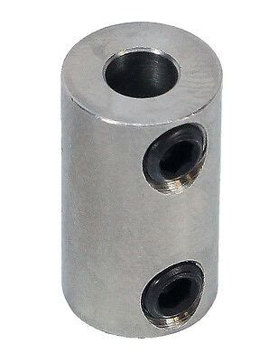 mm set screw shaft coupler  actobotics part  ebay