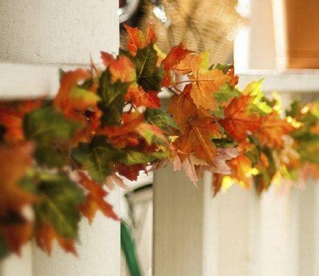 fall garland ideas leaf garlands fall wedding decorations slideshow my wedding pinterest decoration